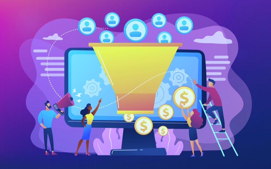 Embudo de conversión en negocio online